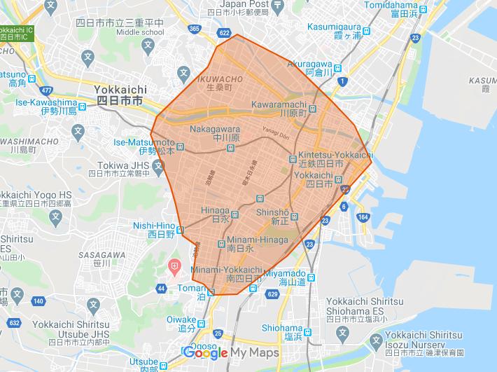 UberEats(ウーバーイーツ)四日市