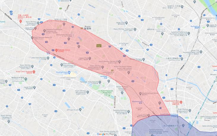 Uber Eats(ウーバーイーツ)加須